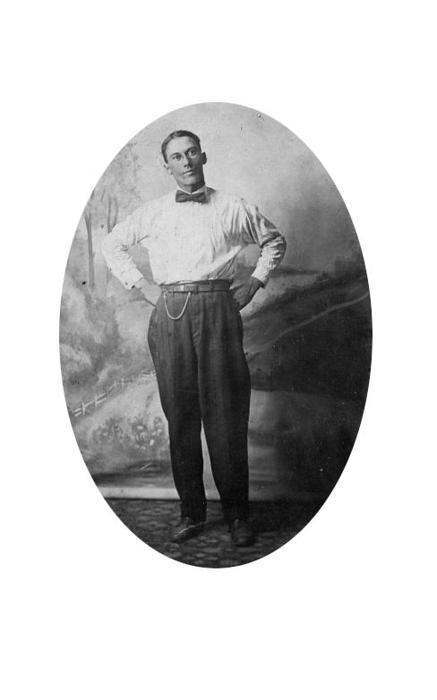 Everette Johnson portrait -Courtesy of Dixie and Robert