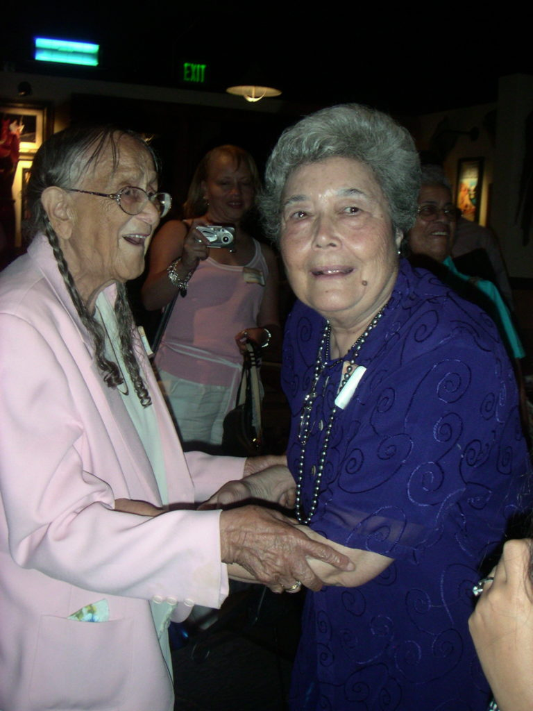 Gladys Johnson Anderson and Frances