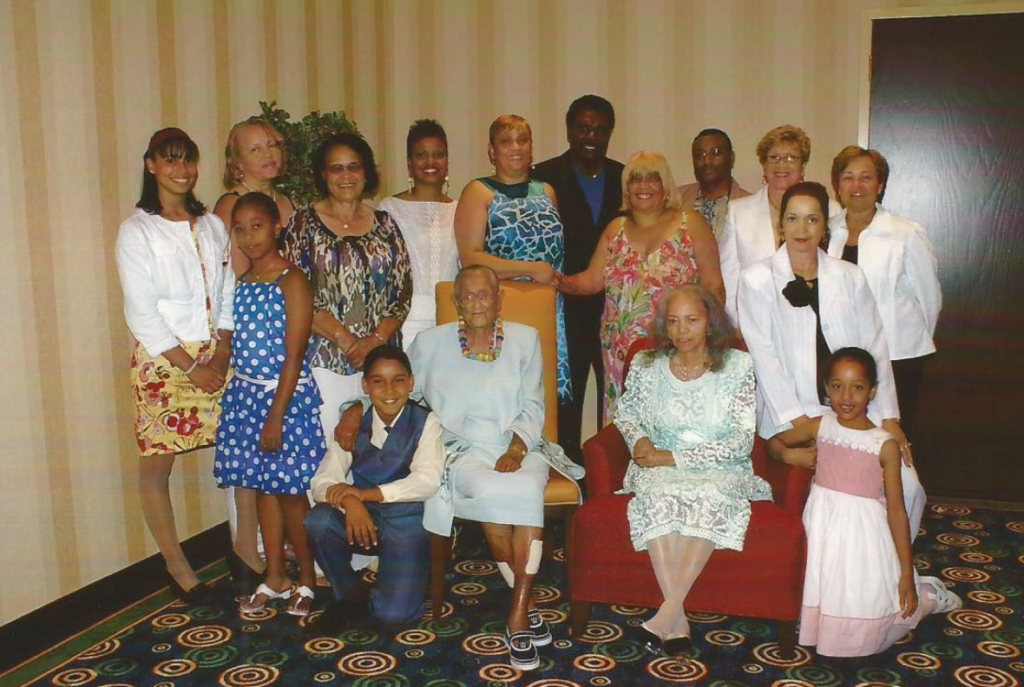 Family at 2007 Detroit reunion