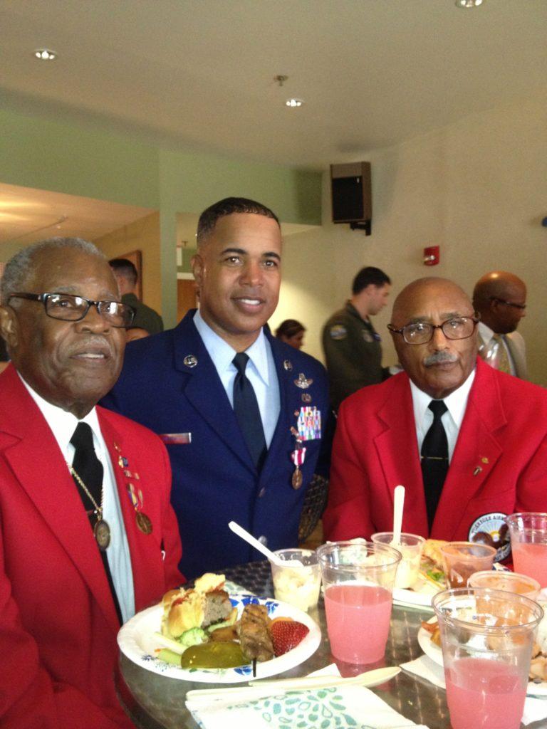 Darryl and Tuskegee Airmen