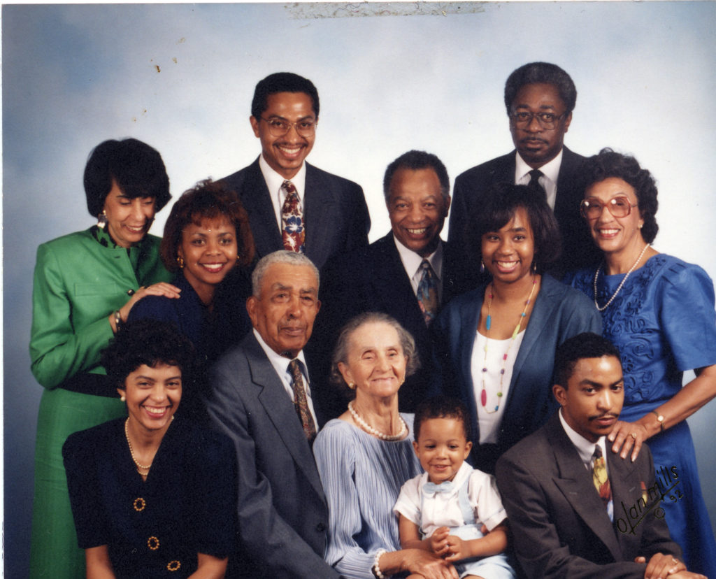 Joe and Thelma Hudson family