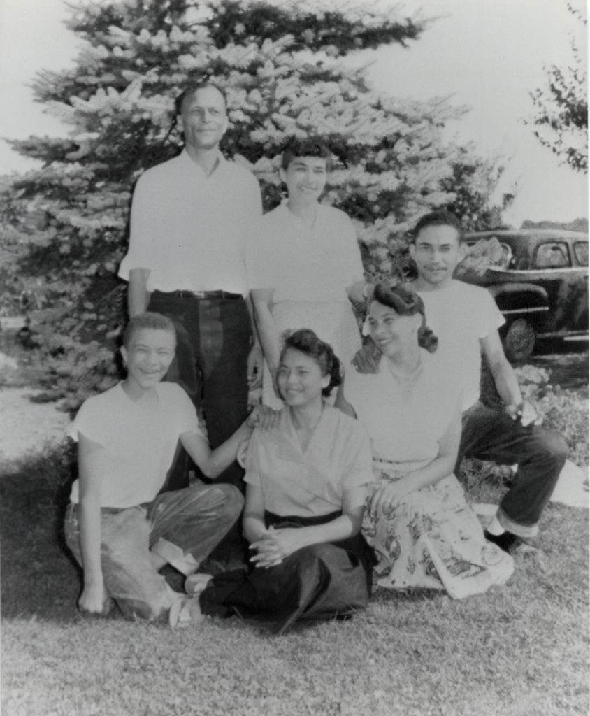 Mercel and Myrtle (Watkins) Johnson Family