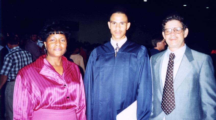 Walter F. graduation