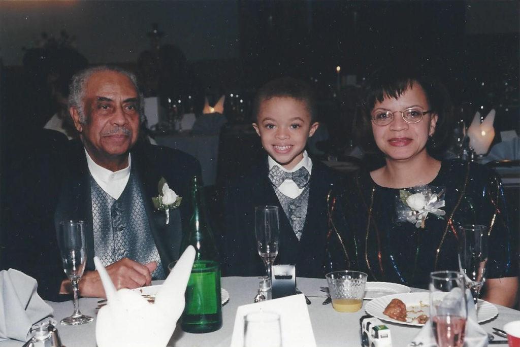 Otho Johnson, son of Arthur, grandson Marcus & Pat; daughter