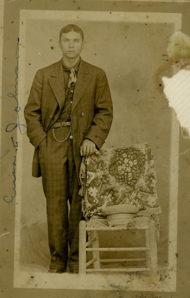 Young Everette Johnson From Robert W. -Restored by Elaine