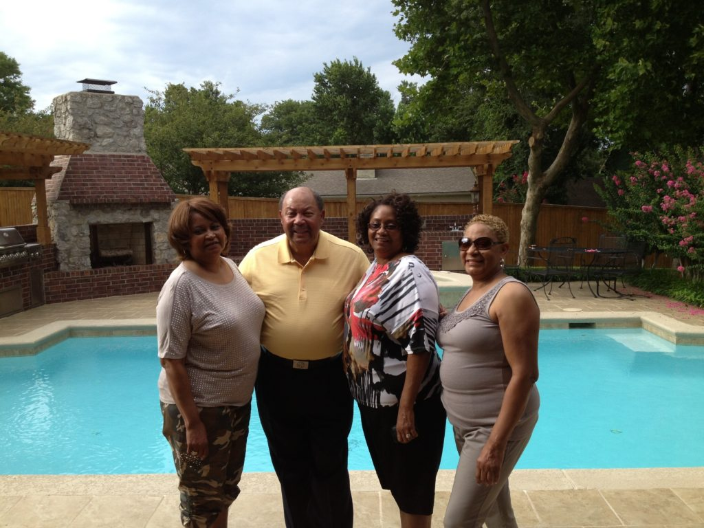 Children of Perkins Johnson ; Barbara, Michael, Janet, Carol Jean Photo courtesy of Candace