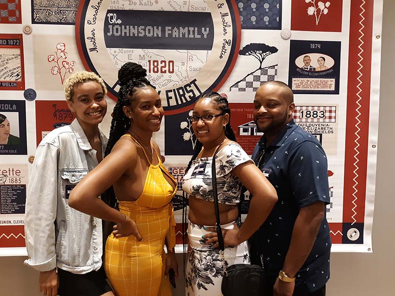 Ashley, Teresa, Tashana and Fabian, shared by Danita