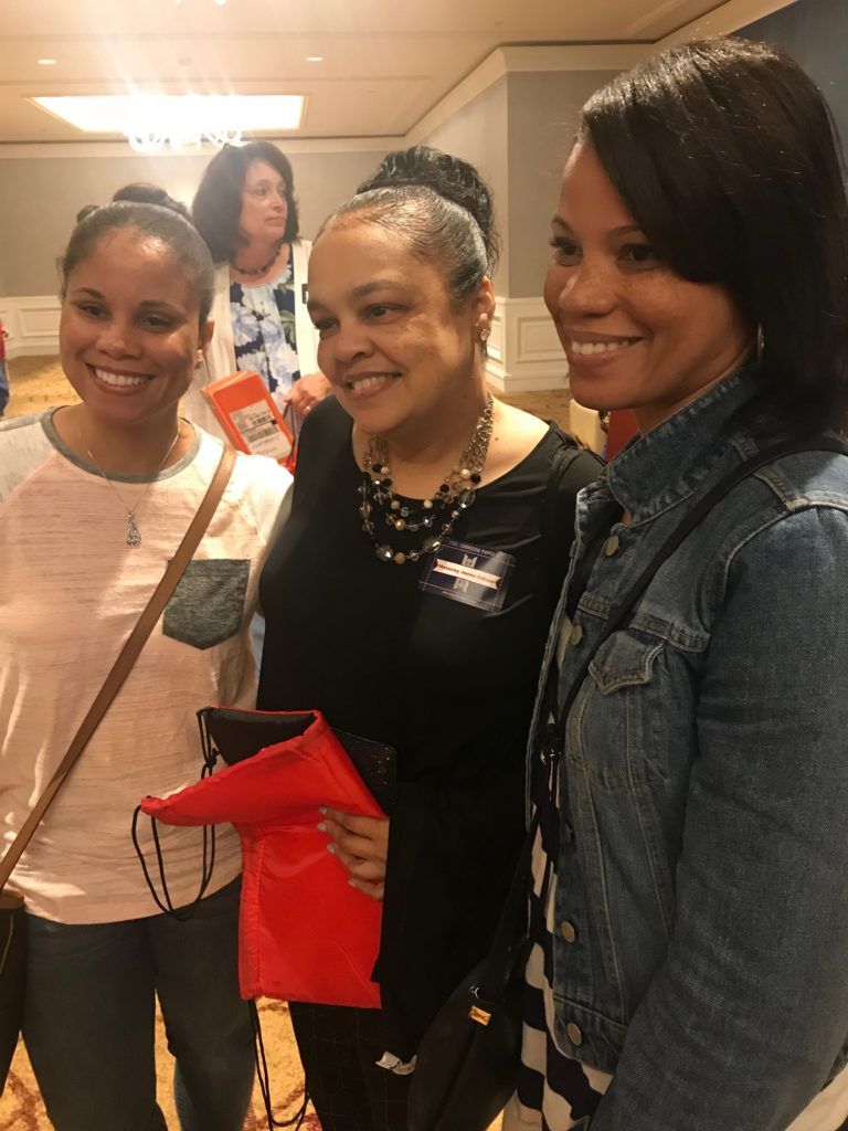 Jennifer, Mel, Caryn, shared by Mel