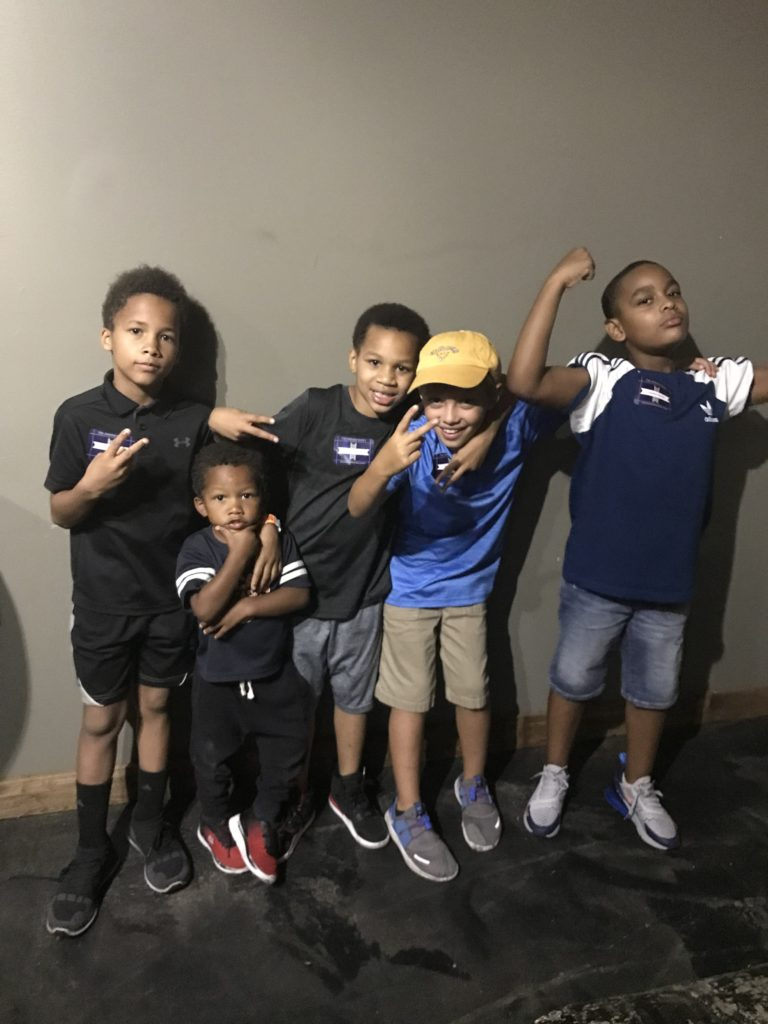 Jason, John, Shamir,Morgan, and Jayden, shared by Sherelle. Great photo of our young people!
