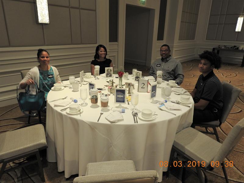 Jennifer, Caryn, Danny, Ja'Kaylen