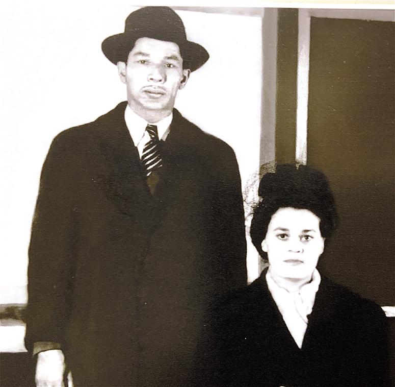 John Lee born 1912 and Alice Johnson