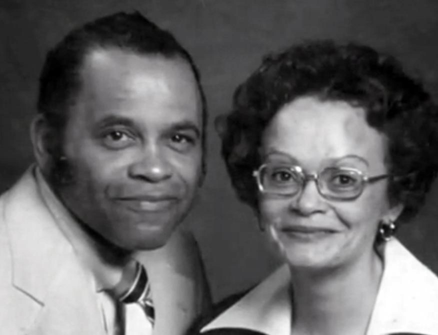 Juliet Johnson Parker and husband