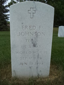 Fred Johnson, Son of Robert and Hettie