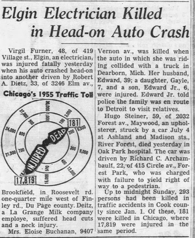 Chicago Tribune 7/19/1955