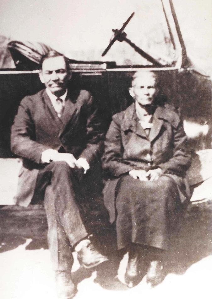 Alex and Jane Johnson Turner