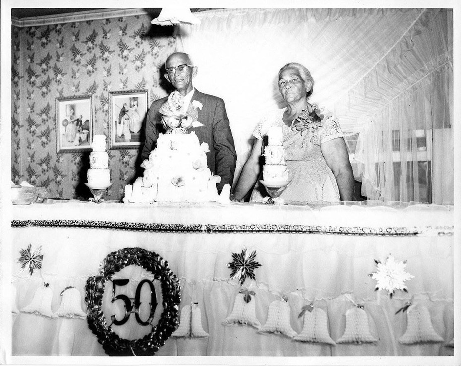 50th Anniversary for Luther and Leila