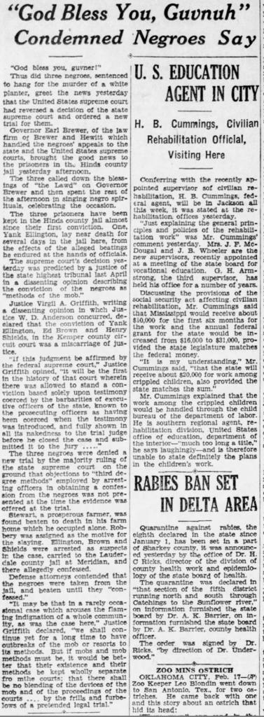 Clarion-Ledger 2-18-1936