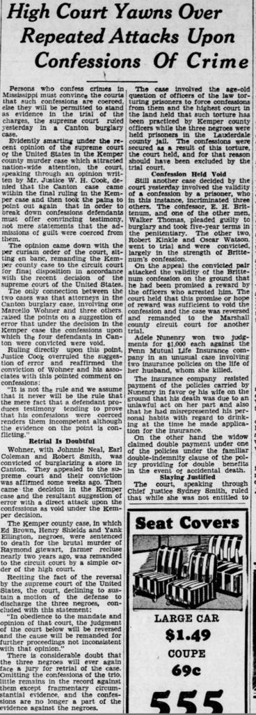 Clarion-Ledger 4-14-1936