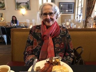 Bertha Louise at her 90th Birthday Brunch-shared by Laura E.