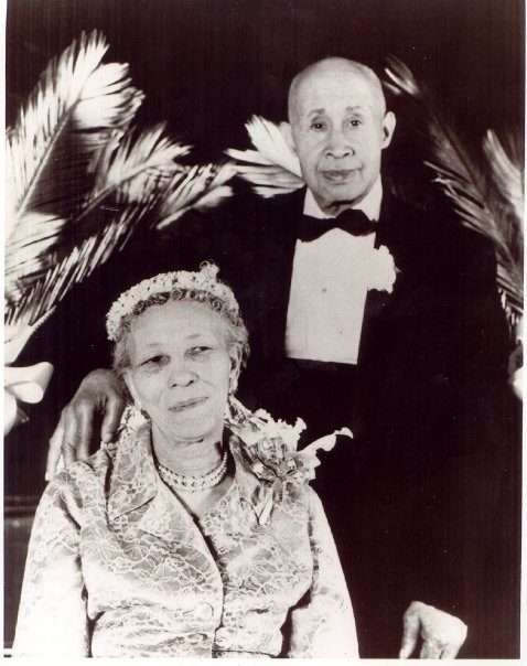 "Savannah ""Mary"" Blackwell with husband Homer Stinson -courtesy of Stanley M."