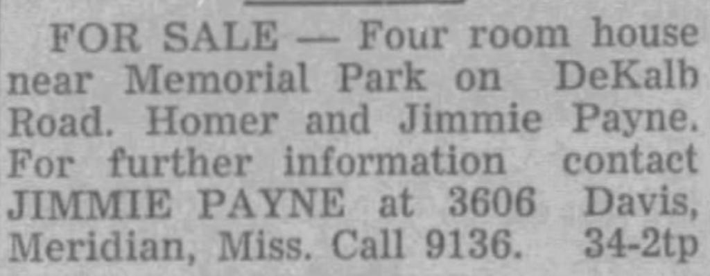8-21-1953 Winston Journal Jimmie Payne