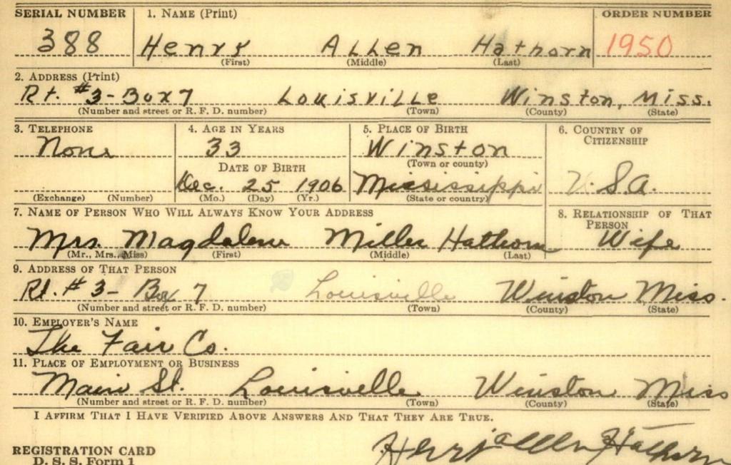 Henry A. Hathorn