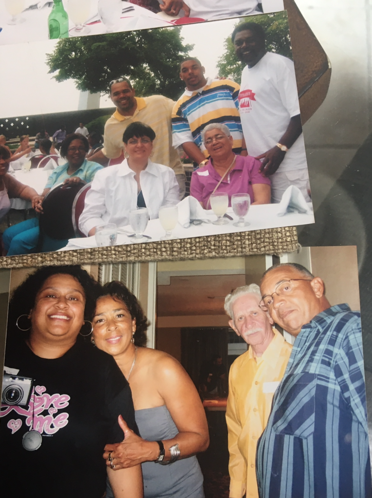 St. Louis Reunion collage shared by Mildred V.