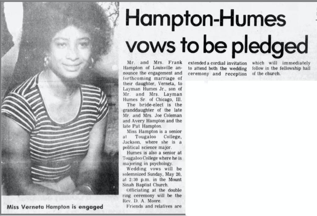 5-18-1979 Winston Journal Frank Hampton's daughter