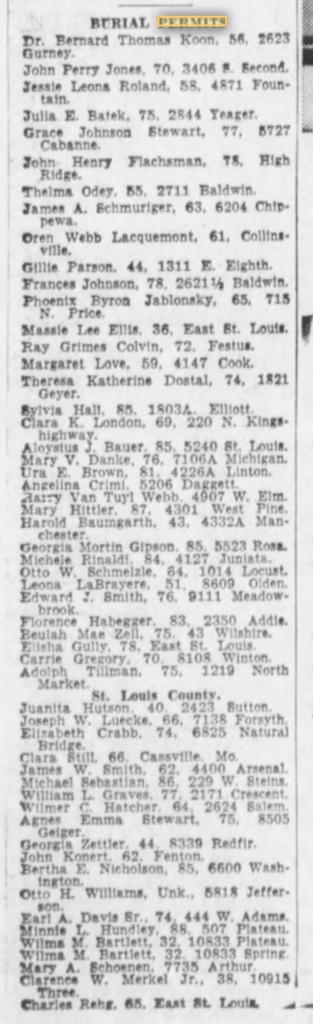5-8-1960 Elisha Gully burial permit