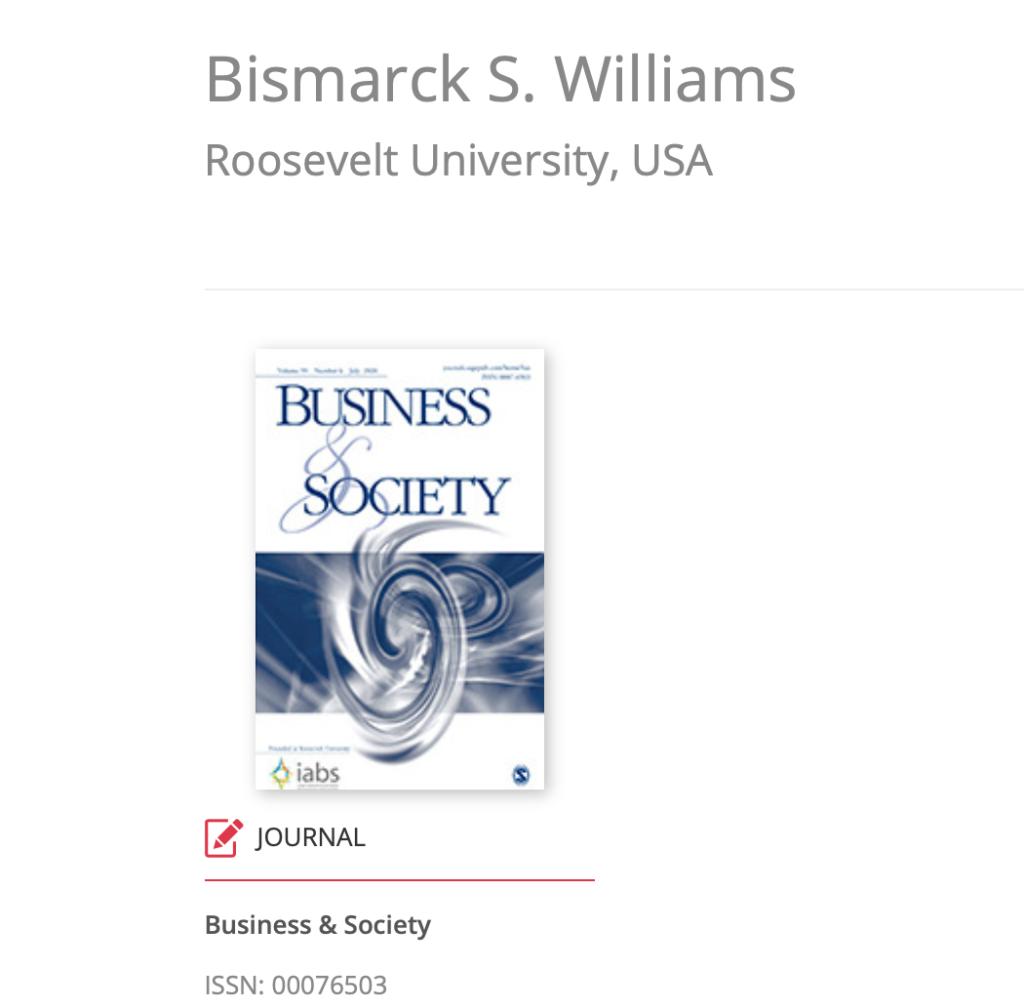 Bismarck S. Williams