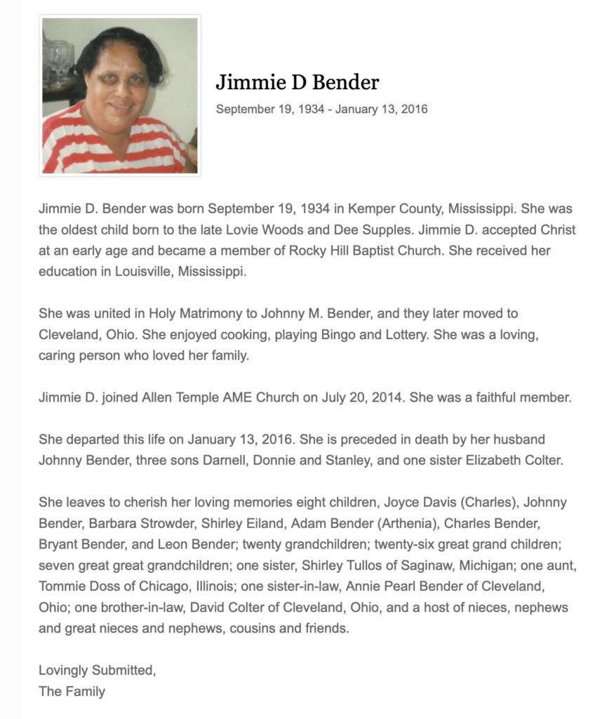 Jimmie D. Bender
