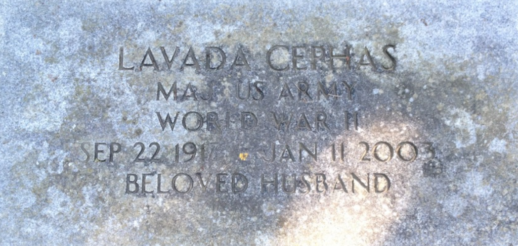 Lavada Cephus Husband of Azalea White Cephas