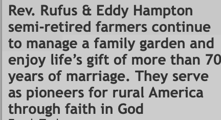 Rev Rufus and Eddy Hampton