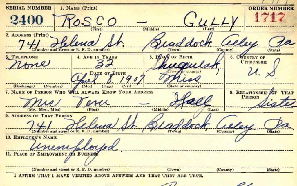 Roscoe Gully