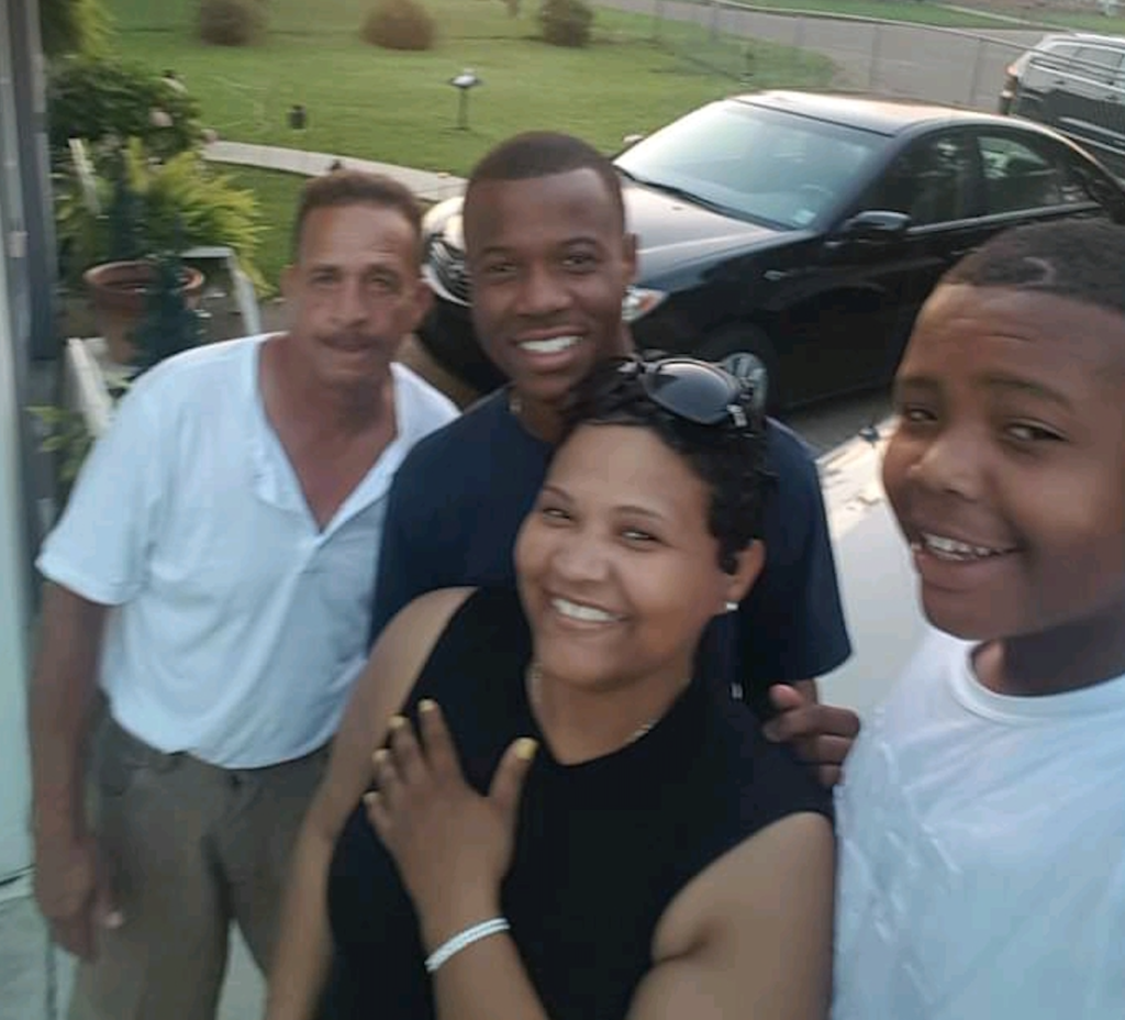 Billy, Daughter Kenyatta and Family