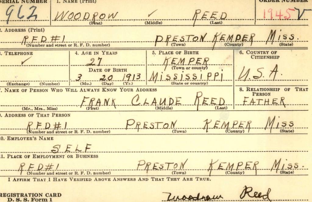 Woodrow Reed