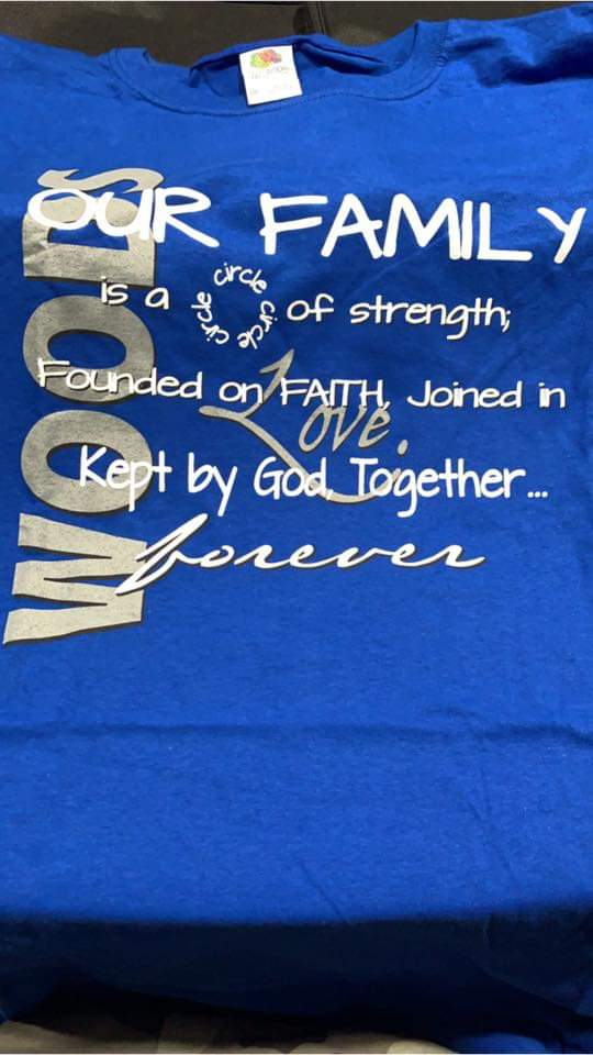 Woods Reunion T shirt - Shared by Melinda T.