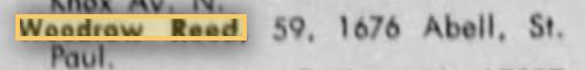 Deaths 2-1973 Minnesota