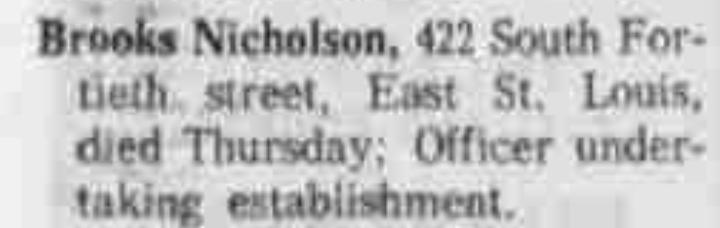 Brooks Nicholson 6-13-1965 St. Louis Dispatch