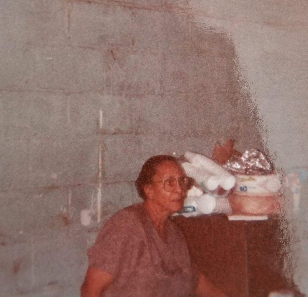 Callie Mae wife of WG Johnson