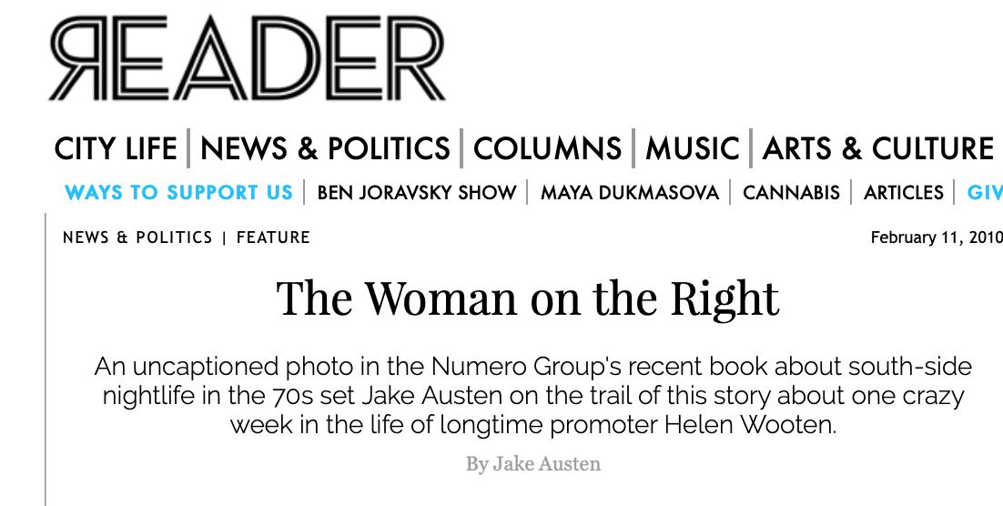 Chicago Reader by Jake Austen