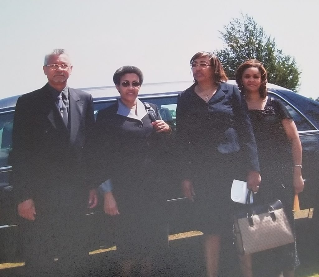 Earlis, Merlene, Izora and Carol