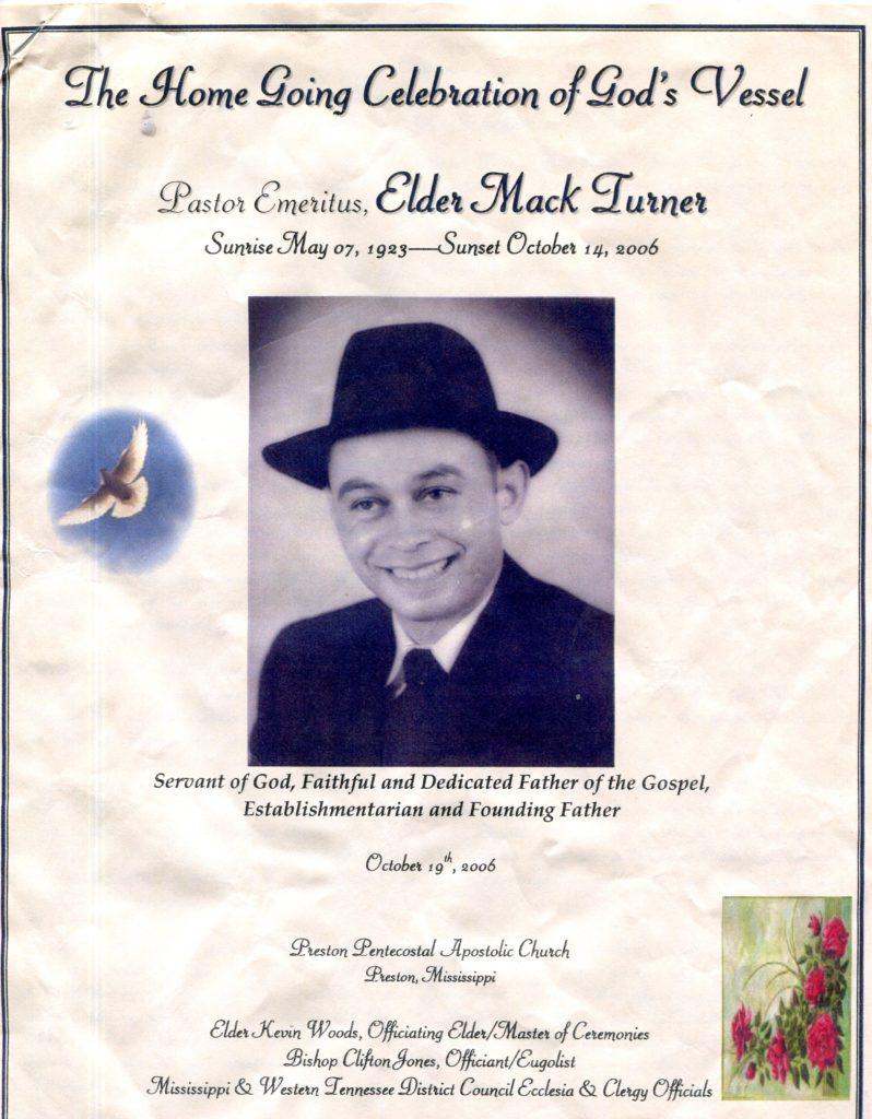 Elder Mack Turner 1 -Shared by Juanita