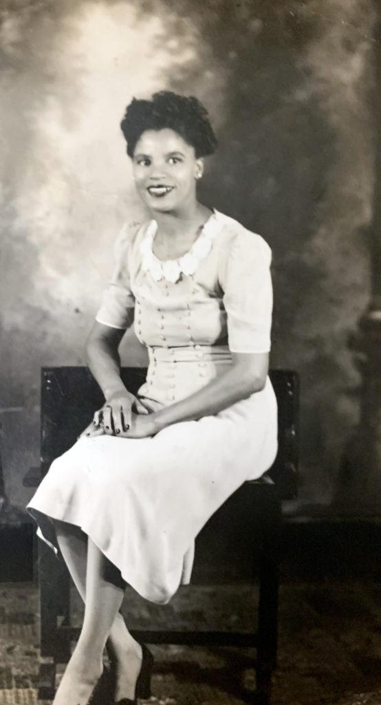 Ethel sitting