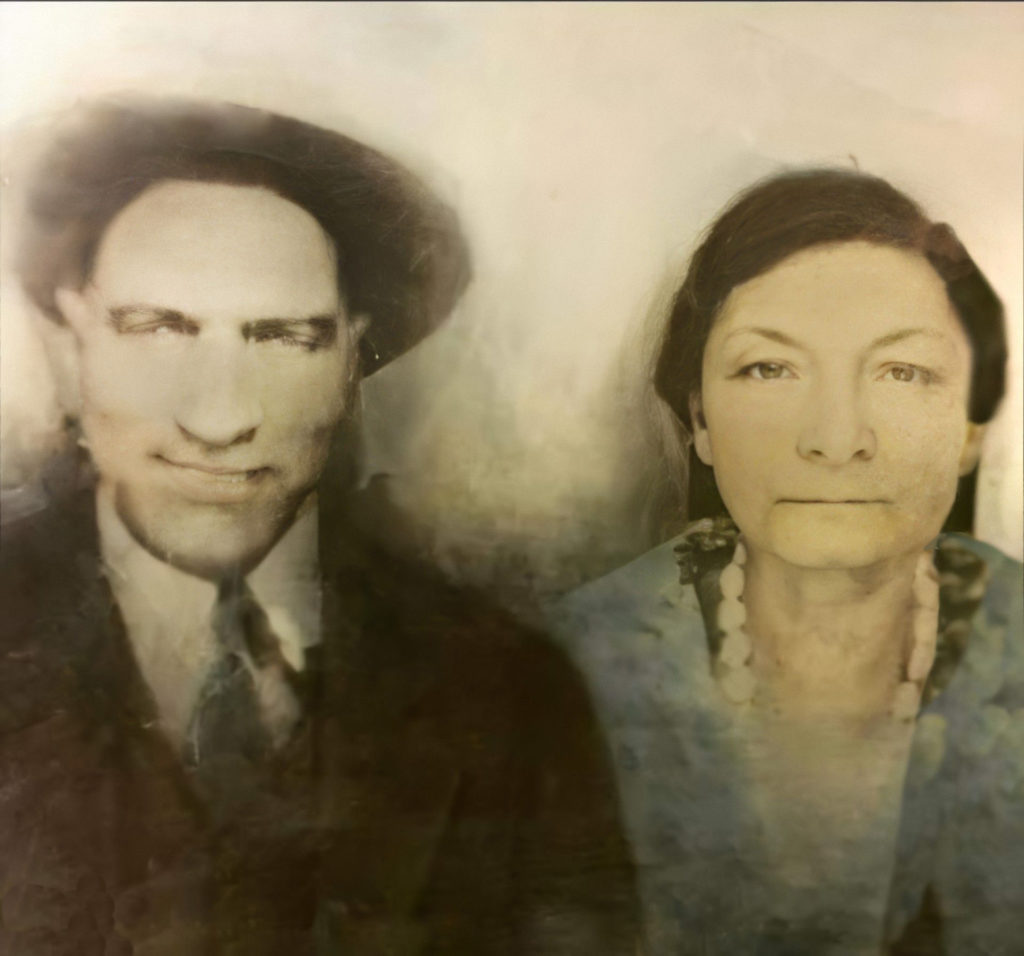 Shared by Gwendolyn C. of George and Annie Turner Cannon. Slightly restored emp