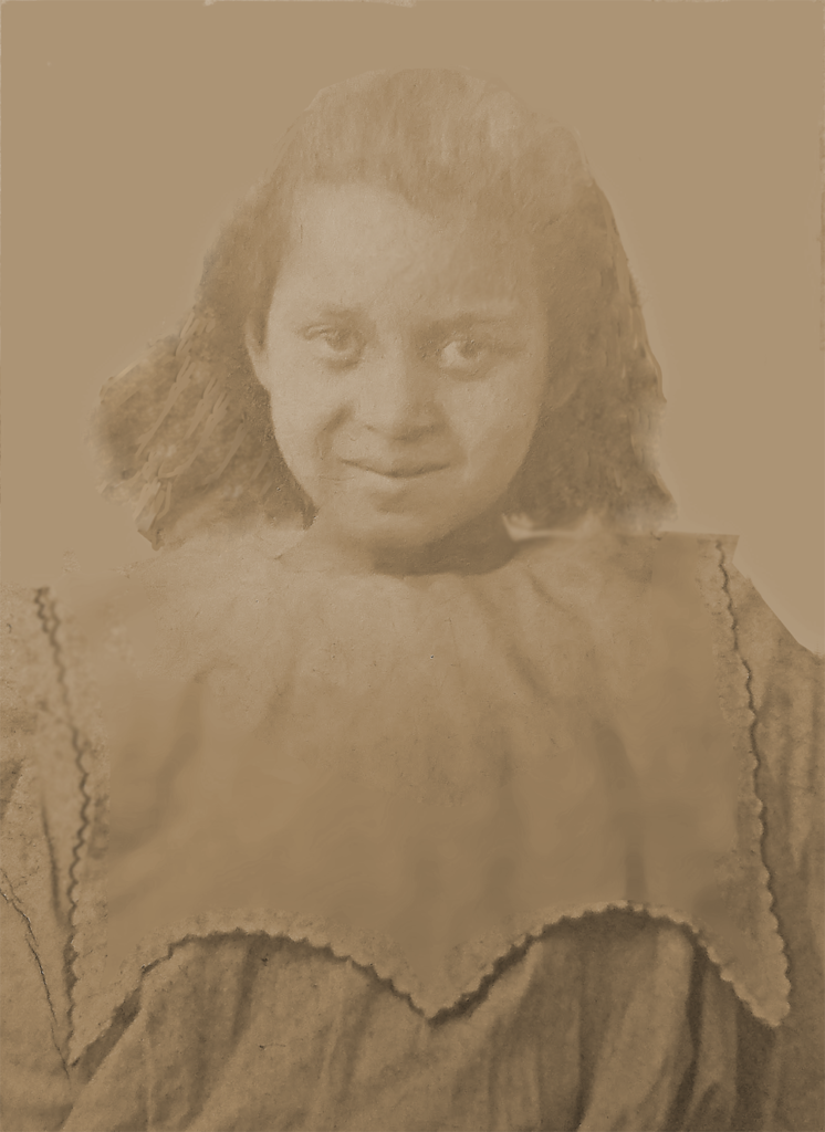Gert as a young child. Shared by Valarie J.. Restored by emp.