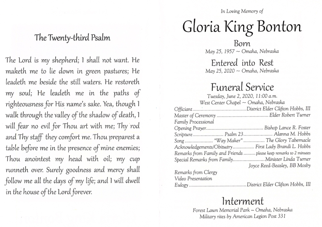 Gloria King Bonton-2
