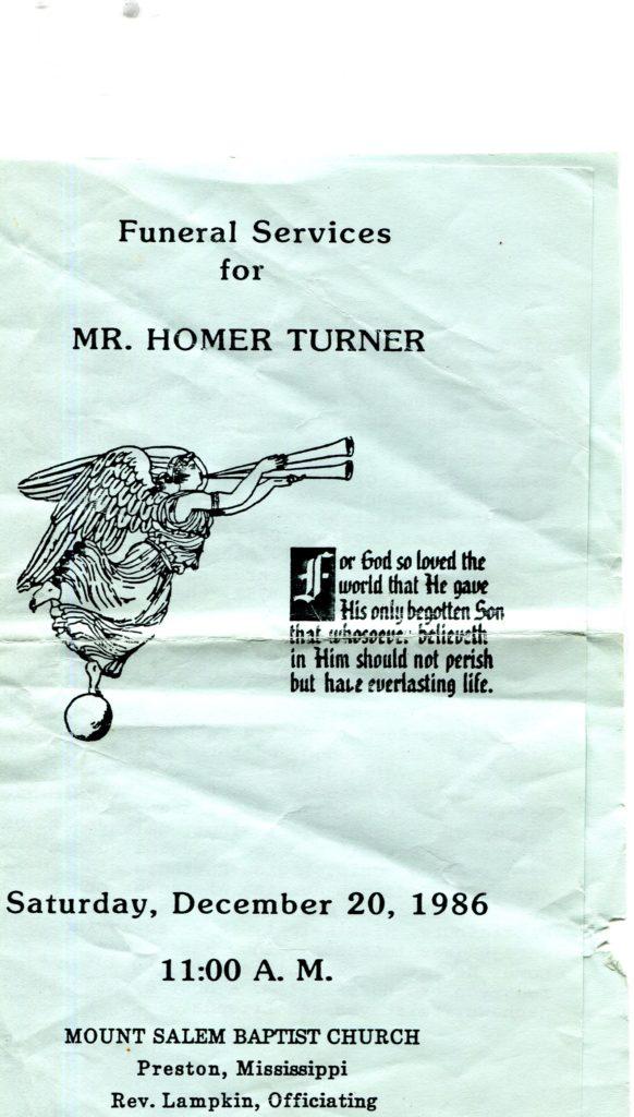 Homer Turner 1