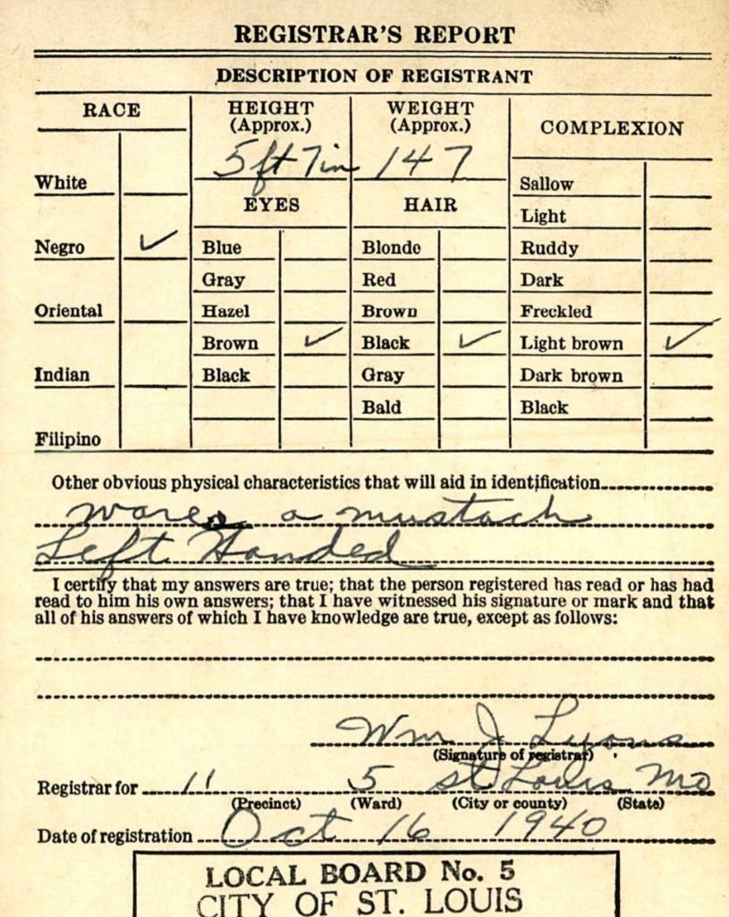 isaac Riddle, Jr registration
