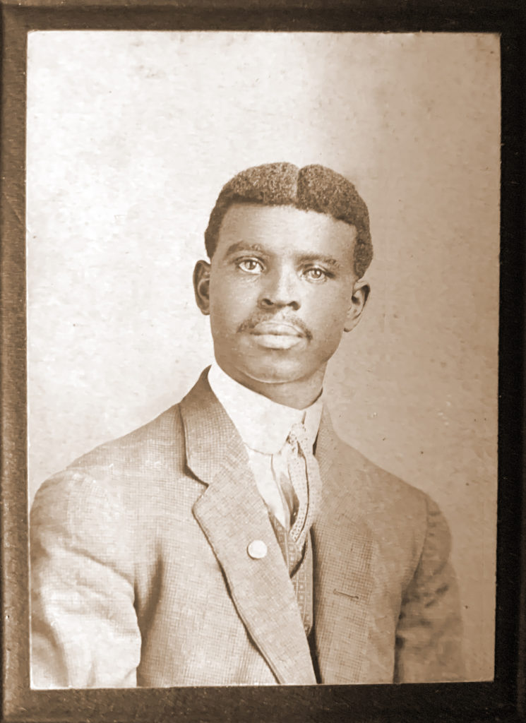 Isaac Riddle, Jr ( 1884 - ABT 1918)- Shared by Valarie J..(ggrandchild) Restored by emp.